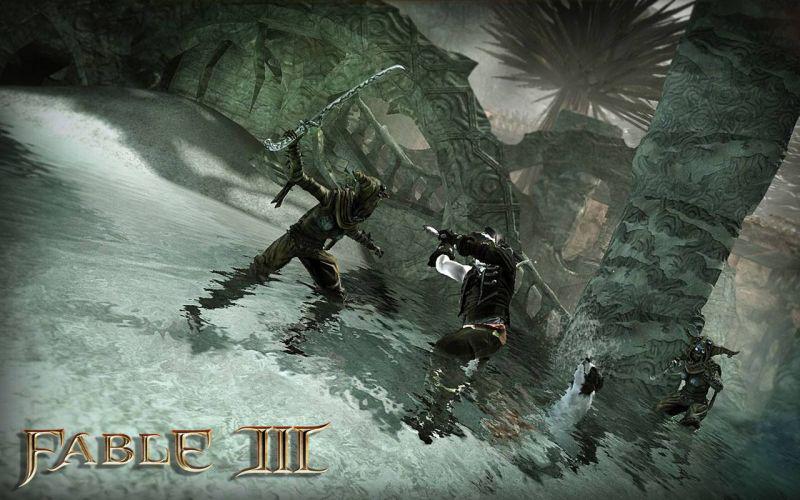 Скриншоты, постеры к игре Fable 3.